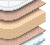 latex mattress types
